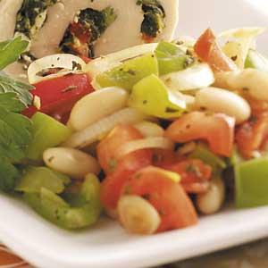 Warm Tuscan Bean Salad Recipe