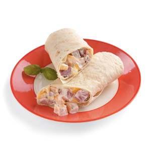 Ham and Mango Wraps Recipe