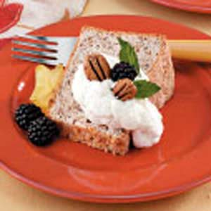 Pecan Angel Food Cake Recipe