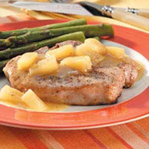 Pineapple Ginger Chops Recipe