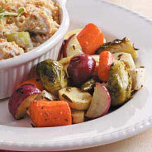 Golden Oldie Veggies Recipe