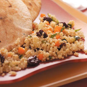 Couscous Salad with Dried Cherries Recipe