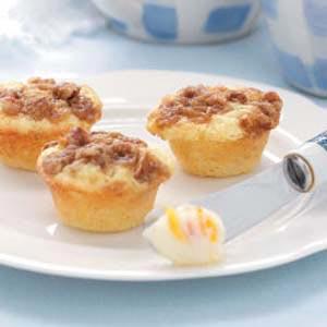 Miniature Orange Muffins Recipe