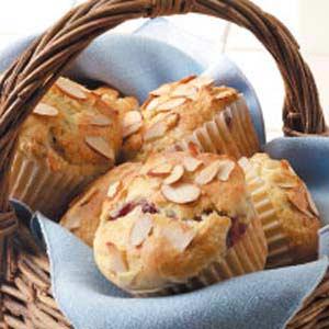 Cranberry Almond Muffins Recipe