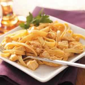 Chicken Taco Fettuccine Recipe