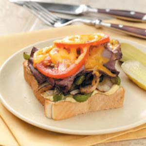 Texas-Sized Beef Sandwiches Recipe