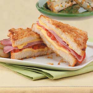 Crunchy Ham and Cheese Recipe