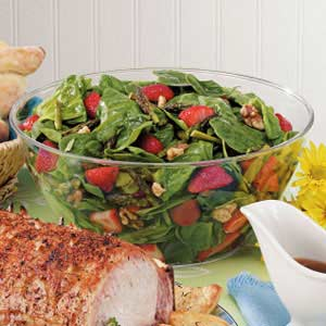 Spinach Strawberry Salad Recipe