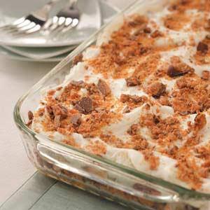 Makeover Toffee Crunch Dessert Recipe