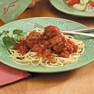 Spaghetti Sauce with Meatballs Recipe