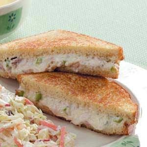 Swiss Tuna Melts Recipe