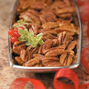 Curried Pecans Recipe