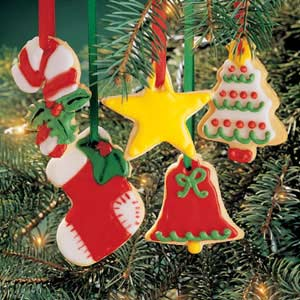 Christmas Cookie Ornaments Recipe
