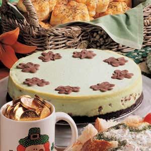 Luck o' the Irish Cheesecake Recipe