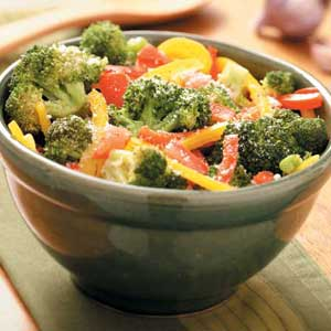 Italian Broccoli with Peppers Recipe