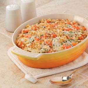 Kohlrabi 'n' Carrot Bake Recipe