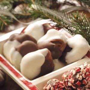 Chocolate-Covered Praline Chews Recipe