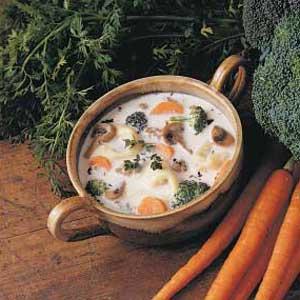 Sausage Broccoli Chowder Recipe