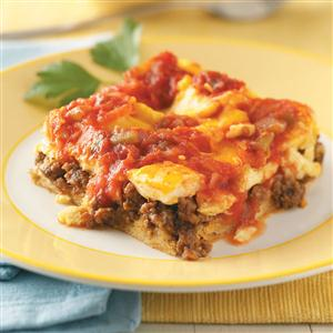 Spicy Egg Bake Recipe