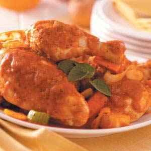 Satisfying Chicken and Veggies Recipe