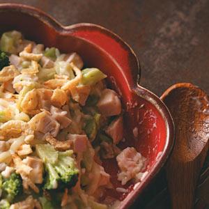 Broccoli Turkey Casserole Recipe