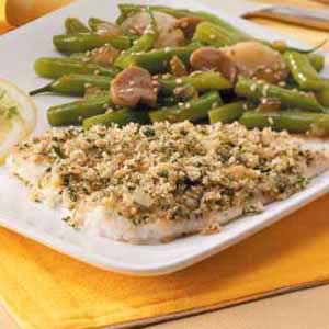 herb fish recipe taste of home