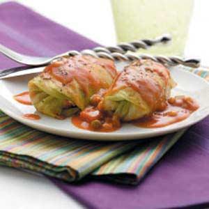 Italian-Style Cabbage Rolls Recipe