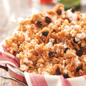 Popcorn Caramel Crunch Recipe