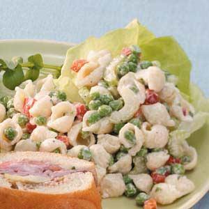 Garden Shell Salad Recipe
