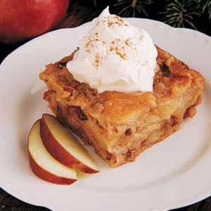 Fruit and Nut Bread Pudding Recipe