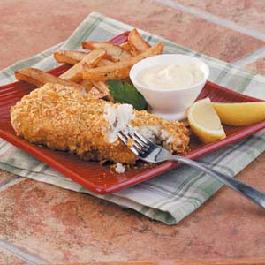 Baked Fish 'n' Chips Recipe