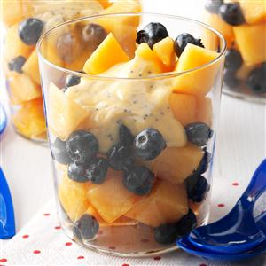 Blueberry Cantaloupe Salad Recipe