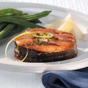 Asian Salmon Medallions Recipe