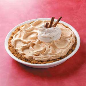 Frozen Pumpkin Mousse Pie Recipe