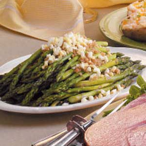 Crumb-Topped Asparagus Recipe