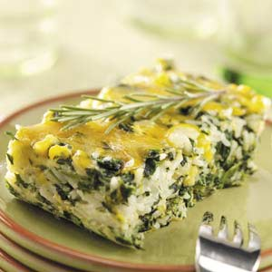 Snappy Herbed Spinach Recipe