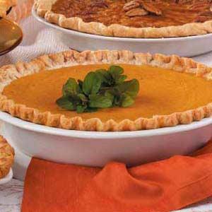 Eggnog Pumpkin Pie Recipe