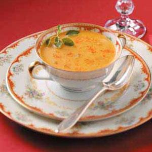 Curry Spiced Squash Soup Recipe