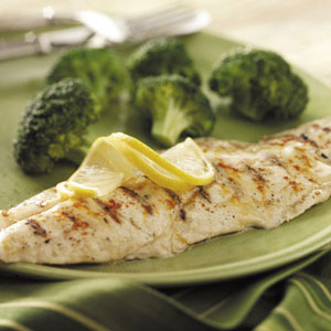 Grilled Dijon Fish Recipe