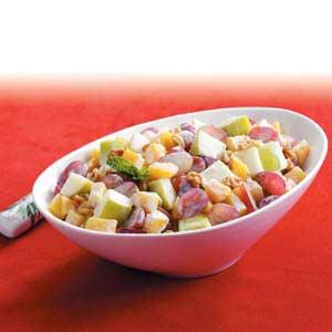 Creamy Fruit Salad Medley Recipe