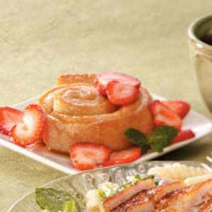 Strawberry Breadstick Rolls Recipe