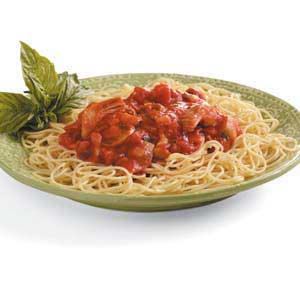 Artichoke-Basil Pasta Sauce Recipe