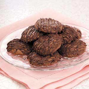 Triple-Chocolate Brownie Cookies Recipe