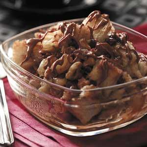 Apple Butterscotch Bread Pudding Recipe