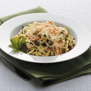 Makeover Greek Spaghetti Recipe