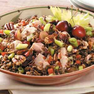 Turkey Wild Rice Salad Recipe