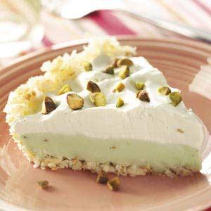 Coconut Pistachio Pie Recipe