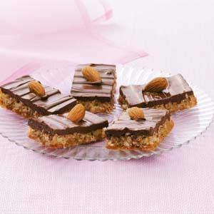 Almond Coconut Bars Recipe