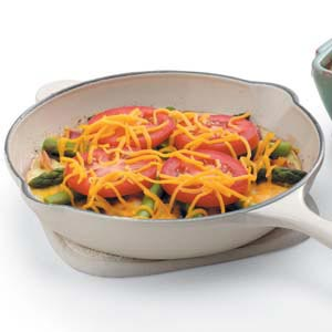 Tomato Asparagus Frittata Recipe