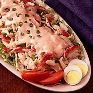 Crab Salad Supreme Recipe